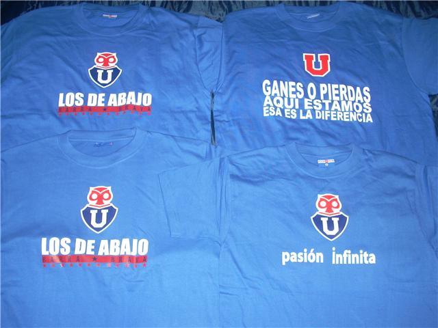 Poleras Universidad de Chile